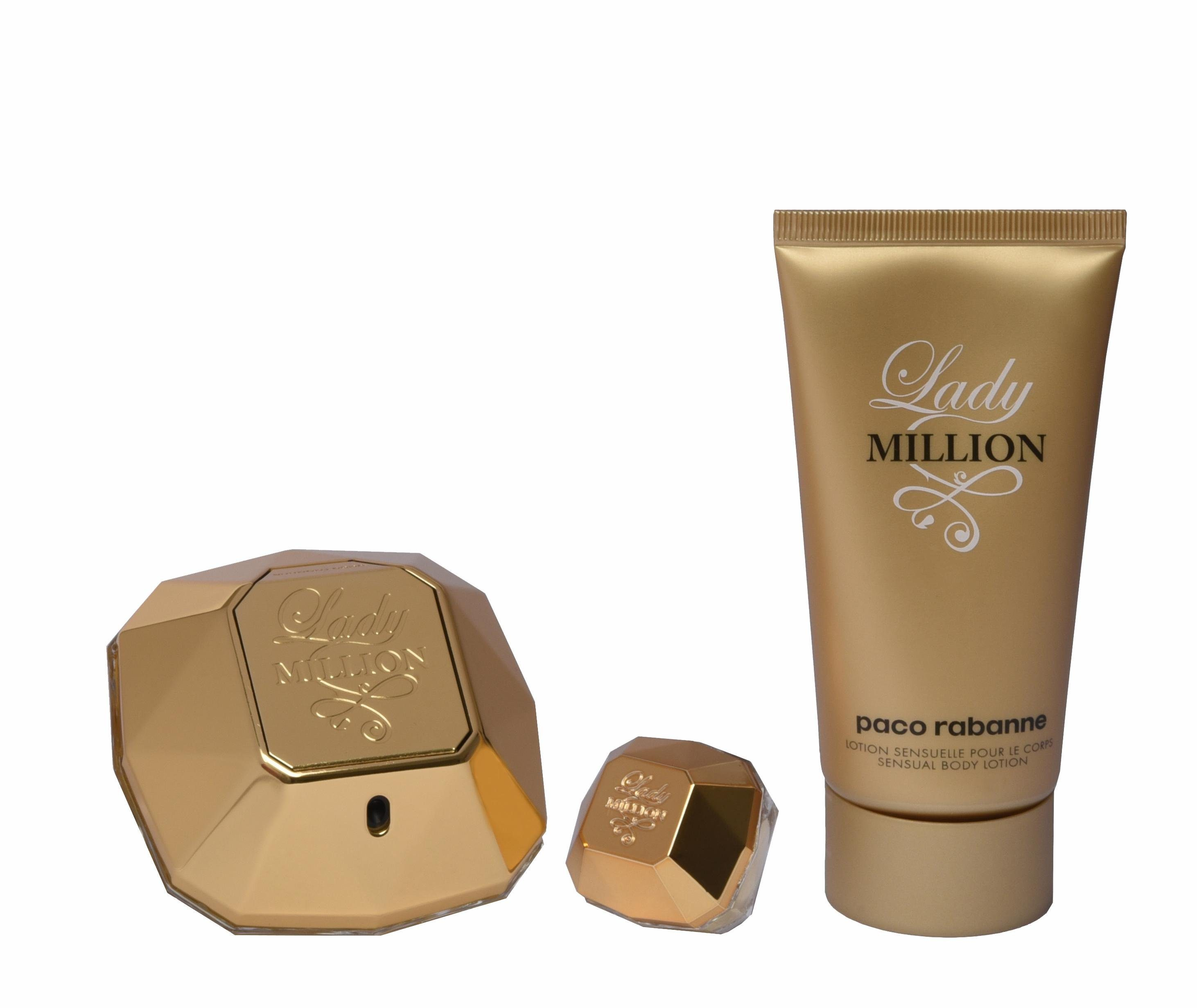 Paco Rabanne, »Lady Million«, Duftset (3 tlg.)